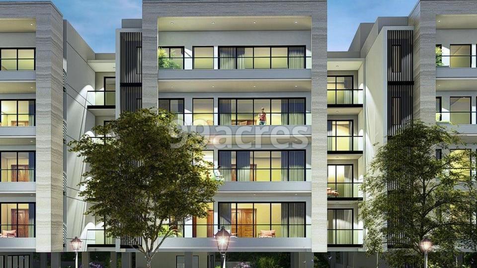 Dlf City Floors Moulsari Avenue Elevation