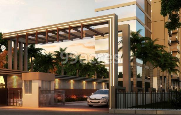 Rathi Nova Residency Entrance