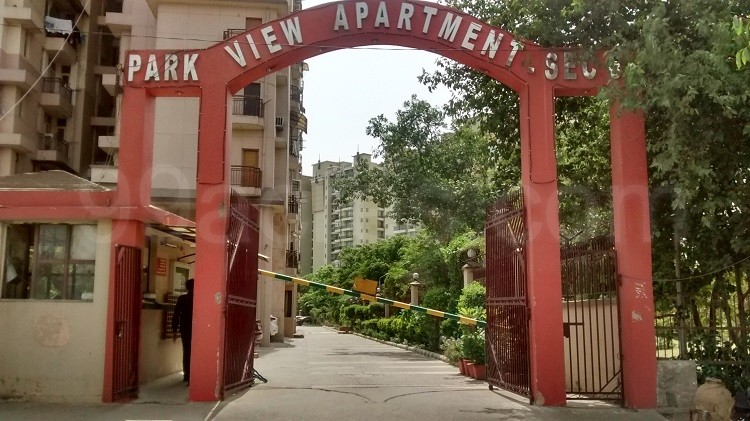 MDHI Park View Apartments Entrance