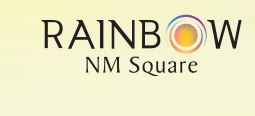 LOGO - Rainbow NM Square