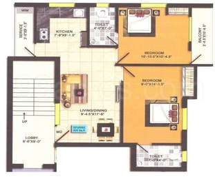 2 BHK Apartment in RK Enclave 2