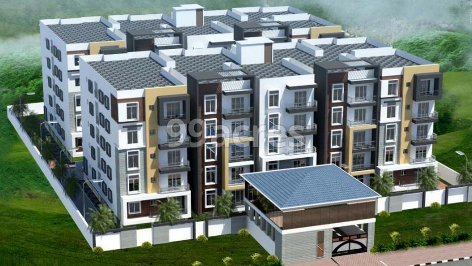Sai Samraksha Aerial View