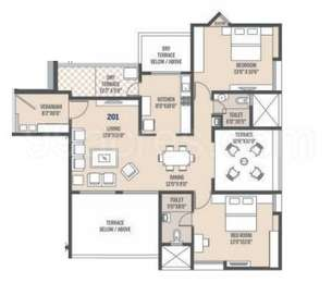 2 BHK Apartment in Seya