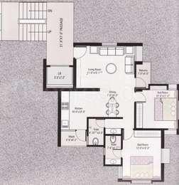 2 BHK Apartment in Shreeji Residency