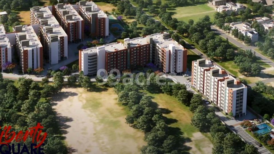 Shriram Liberty Square Aerial View