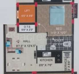 1 BHK Apartment in Smart Flats