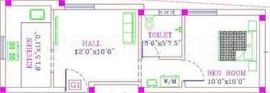 1 BHK Apartment in Adhith Somu Flats