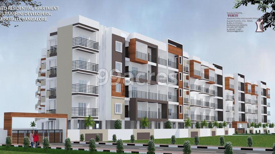 Varshini Residency Elevation