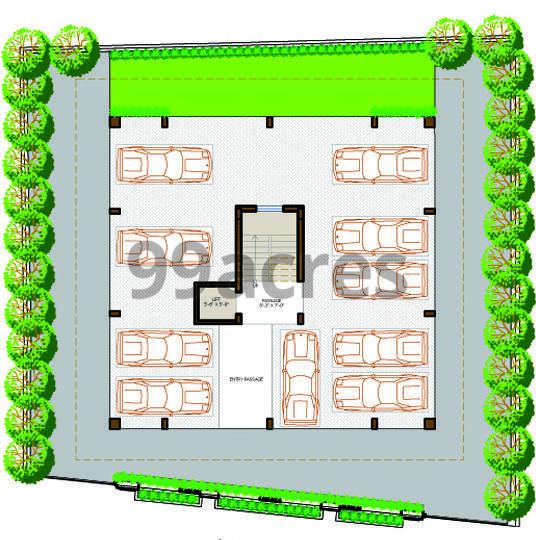 Vaibhav Beryl Parking Plan