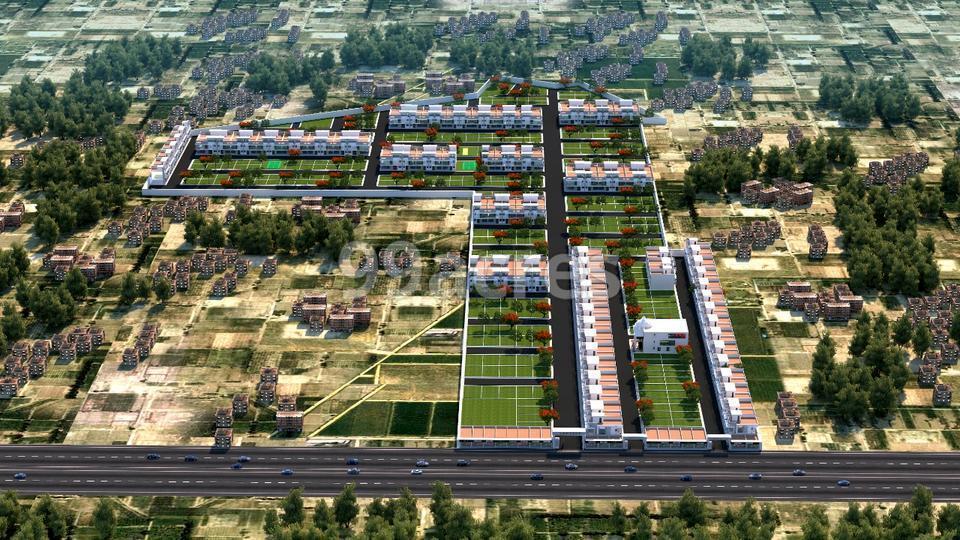 New Sky City Aerial View