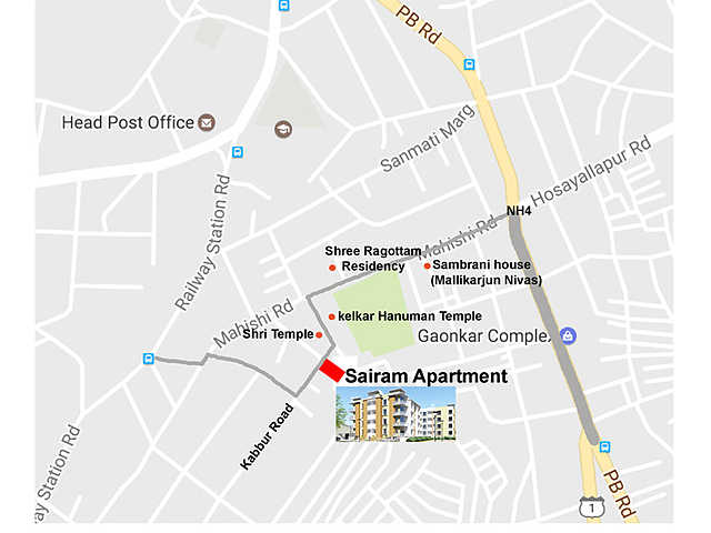 Vanishree Sairam Apartment Malmaddi, Dharwad | Price List