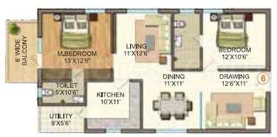 2 BHK Apartment in Vasavi GP Trends