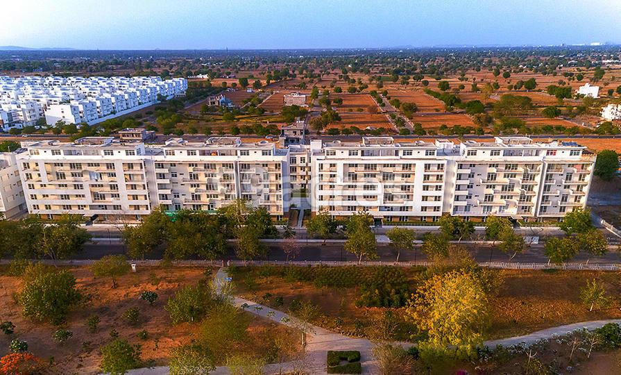 Vatika The Park Apartments Aerial View