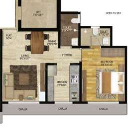 1 BHK Apartment in Veena Serenity