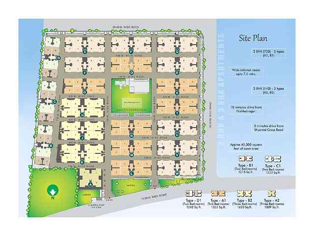 Venus Infrastructure And Developers Venus Parkland Vejalpur