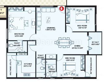 Apartment Floor Plans In Hyderabad vertex builders vertex pleasant floor plan - vertex pleasant hyder