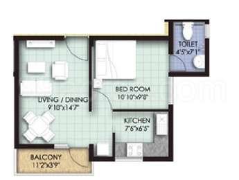 1 BHK Apartment in VGN Temple Town