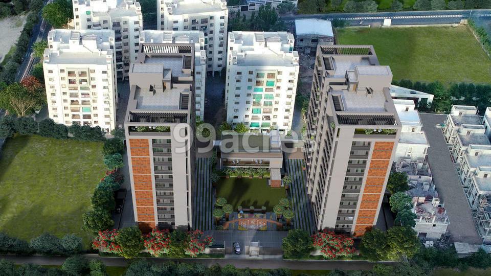 Vihav Keystone Skyvillas Aerial View
