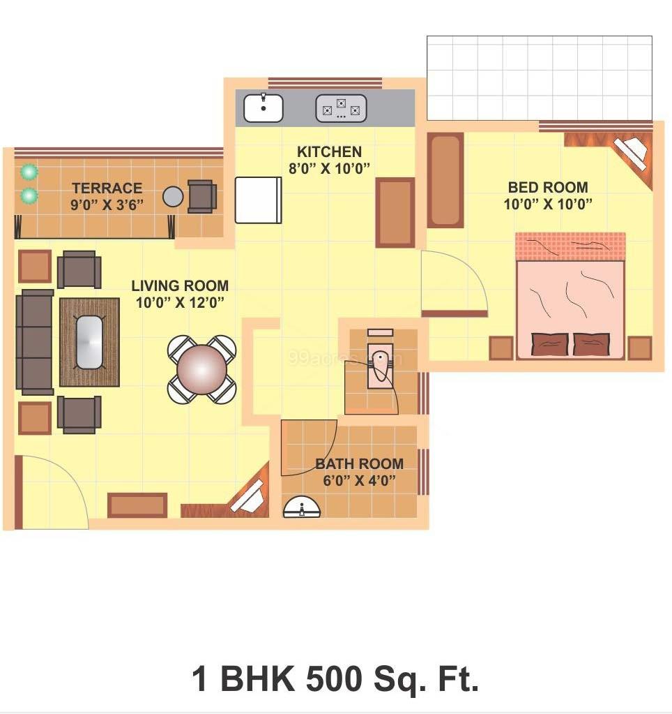 plain 500 square foot house plans stunning for design