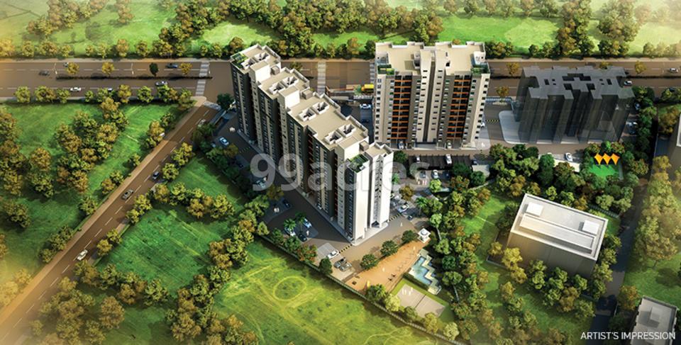 Vilas Yashone Aerial View