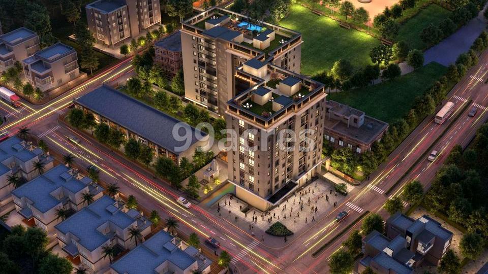 Manglam Park Infinia Aerial View