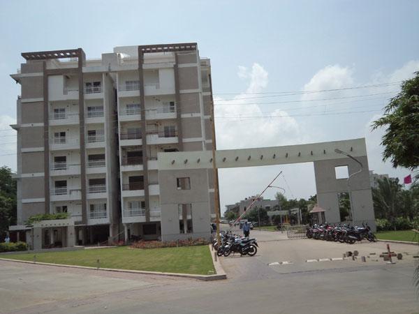 Virasha Heights Entrance
