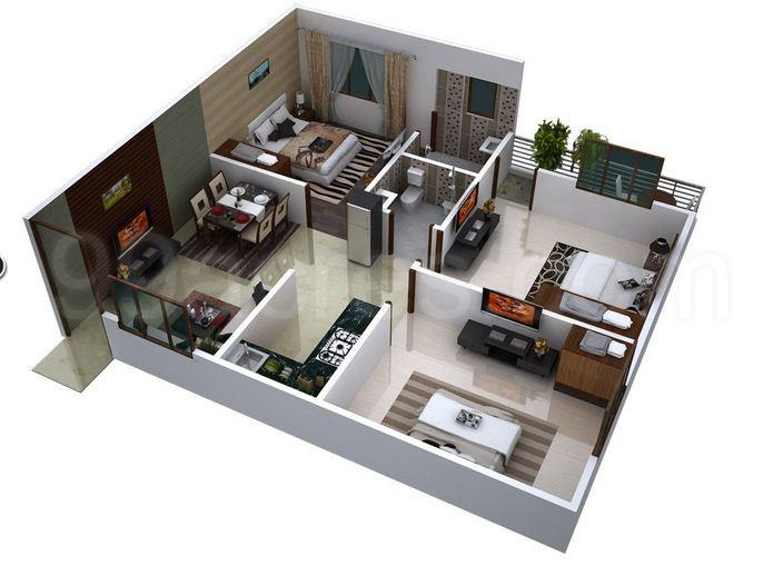 Virat Group Jaipur Prime Floor Plan