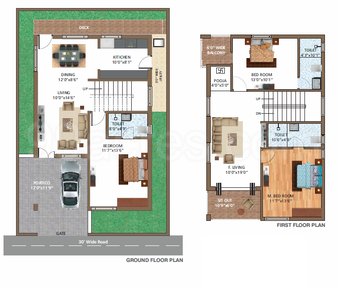 Vishwak Constructions Vishwak Vaikuntam Floor Plan - Vishwak
