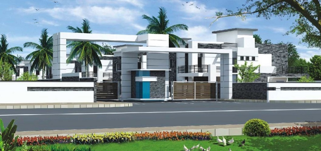 House Compound Wall Design Furnished : Vision meadows estates spandana maheswaram