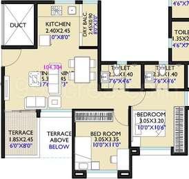 2 BHK Apartment in Vivanta Life Vishakha