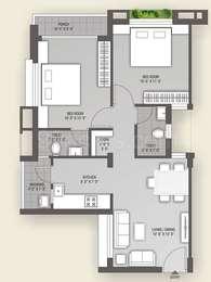 2 BHK Apartment in Vraj Apple Elegance