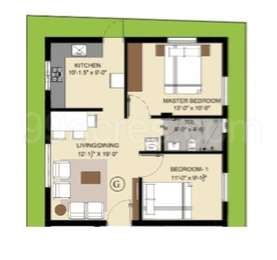 2 BHK Apartment in VV Naveen Apartments