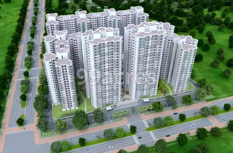 Solitaire VVIP Homes Aerial View