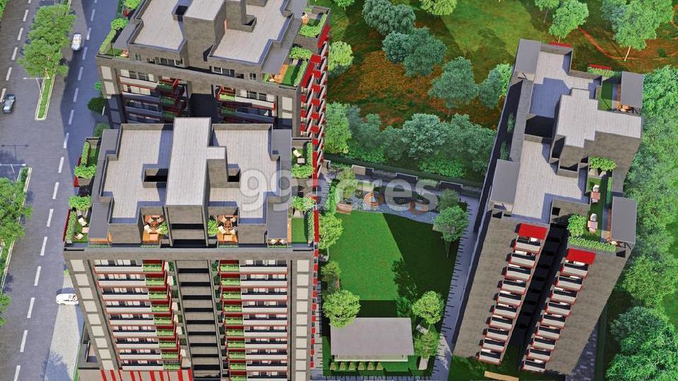 The Centrium Aerial View