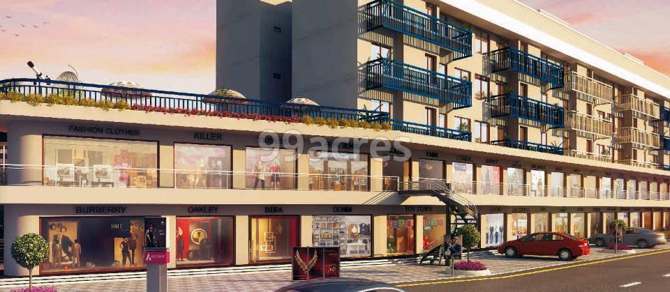 Yash Nilkanth Resi Cum Plaza Commercial Shops