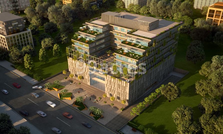 Yashada Brand Square Aerial View