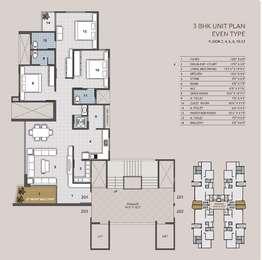 3 BHK Apartment in Yashasvi Siddhi Ellipse