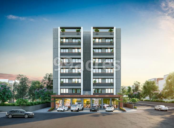 Laxminarayan Residency Elevation